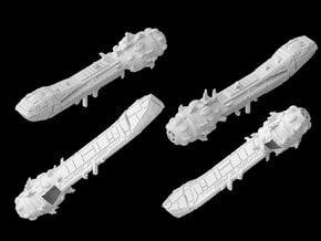 (Armada) Lancer Frigate in White Natural Versatile Plastic