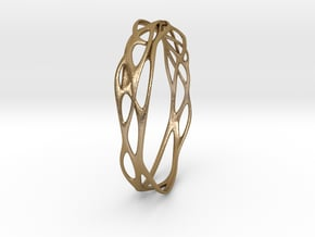 Incredible Minimalist Bracelet #coolest (S or M/L) in Polished Gold Steel: Large