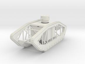 PV32D Pioneer Skeleton Tank (1/72) in White Natural Versatile Plastic