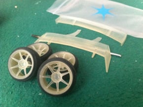 """MB Battle 18"""" pack 1/24 in Smooth Fine Detail Plastic"""