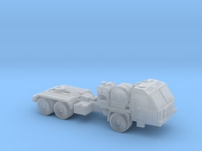 Russian BAZ-64022 Truck 6mm/1:285 in Smooth Fine Detail Plastic