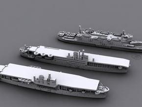 1/3000 IJN Amphibious Assault Ships (Set1)* in Smooth Fine Detail Plastic