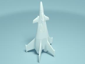 F-69 Maverick in White Natural Versatile Plastic
