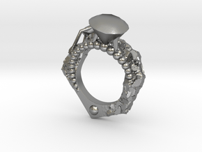 Diamonds Are Forever - Eragatory - Size 7 in Natural Silver