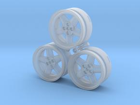CATERHAM REVOLUTION 5x Spoke x3 Frosted Ultra Deta in Smooth Fine Detail Plastic