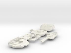 Brawl - Chest (Set 2 of 5) in White Natural Versatile Plastic
