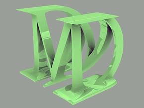 M&D big in Blue Processed Versatile Plastic