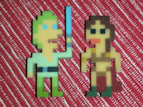 Star Wars Slave Leia iotacon in Full Color Sandstone