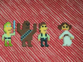 Star Wars Han Solo iotacon in Full Color Sandstone