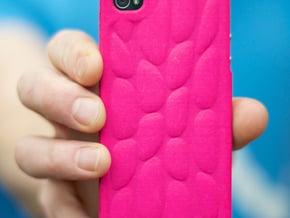 Personalised 3D Smart Phone Art Case. in Purple Processed Versatile Plastic