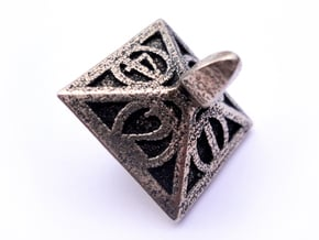 Top d4 in Polished Bronzed Silver Steel