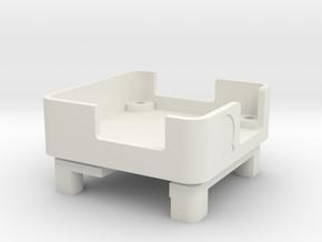 NAZE 32 case in White Natural Versatile Plastic