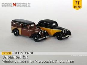 SET 2x IFA F8 (TT 1:120) in Smooth Fine Detail Plastic