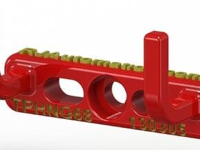 TPHanger68_130305 in Red Processed Versatile Plastic