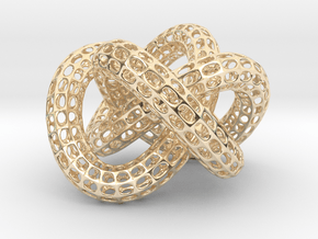 Gold Dollar Knot in 14K Yellow Gold