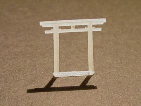 Torii, Hachiman small 5x (N-gauge) in Smooth Fine Detail Plastic