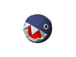 Super Mario Chain Chomp 1/2inch in White Natural Versatile Plastic
