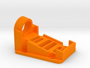 Mobius Action Camera 15 Degree Mount for QAV250 M in Orange Processed Versatile Plastic