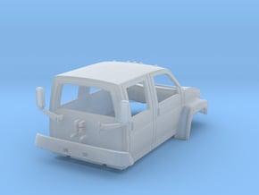 Gmc C5500 4x4 Crew Cab 1/50 in Smooth Fine Detail Plastic
