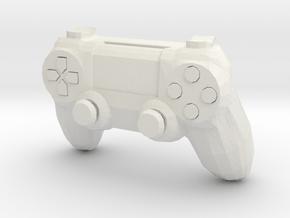 1:6 PS4.1 Controller in White Natural Versatile Plastic