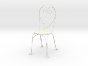 Vintage Cafe chair in White Natural Versatile Plastic