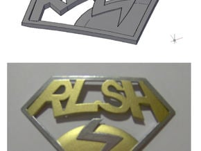 Improved RLSH badge in White Processed Versatile Plastic