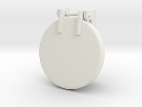 Sand Hatch stubby in White Natural Versatile Plastic