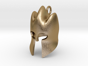 King's Helm in Polished Gold Steel