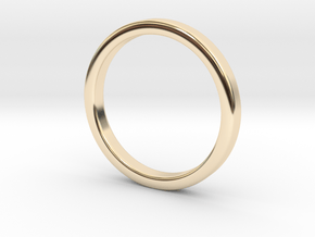 Ring for Ed - Size 12 (3mm wide, 2mm Thick) in 14K Yellow Gold