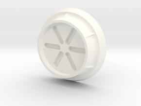 Armor Mouth  in White Processed Versatile Plastic