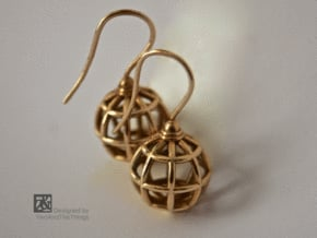 The2LittleGlobes in Polished Bronze