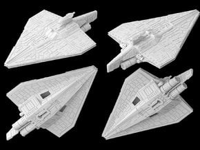 (Armada) Acclamator assault ship in White Natural Versatile Plastic
