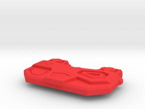 Kissy Medic Breast Plate in Red Processed Versatile Plastic