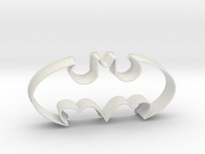 Batman 1998 - cookie cutter in White Natural Versatile Plastic