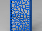 Skeleton iPhone 4 Case in Blue Strong & Flexible Polished