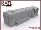 N Scale Class 08/9 in Frosted Extreme Detail