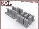 N Scale Lineside Electrical Cabinets in Frosted Extreme Detail