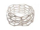 Interstice Bracelet in White Strong & Flexible Polished