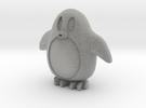 Penguin in Metallic Plastic