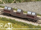 BLA Steel Coil Wagon in Frosted Ultra Detail