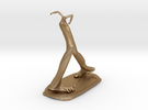 Right Foot 4.4 Inch Height in Matte Gold Steel