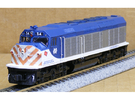 N Scale EMD F40C (Milwaukee Road) in Frosted Ultra Detail