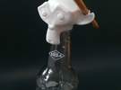Pencil Sharpener Monkey (Case) in White Strong & Flexible