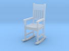 Miniature 1:48 Rocking Chair in Frosted Ultra Detail