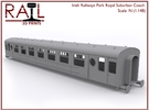 N Scale Irish Railways Park Royal Suburban Coach in Frosted Ultra Detail