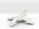 Scorpion Class BattleCruiser in White Strong & Flexible