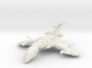 Scorpion Class BattleCruiser in White Strong & Flexible