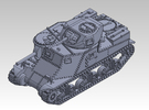 1/87 Cruiser Tank M3 Grant in Frosted Ultra Detail