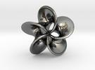 Scherk H Rose  in Premium Silver