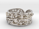 New-Khayam-S2-S1075-2-3mm Ring Size 10.75 in Rhodium Plated